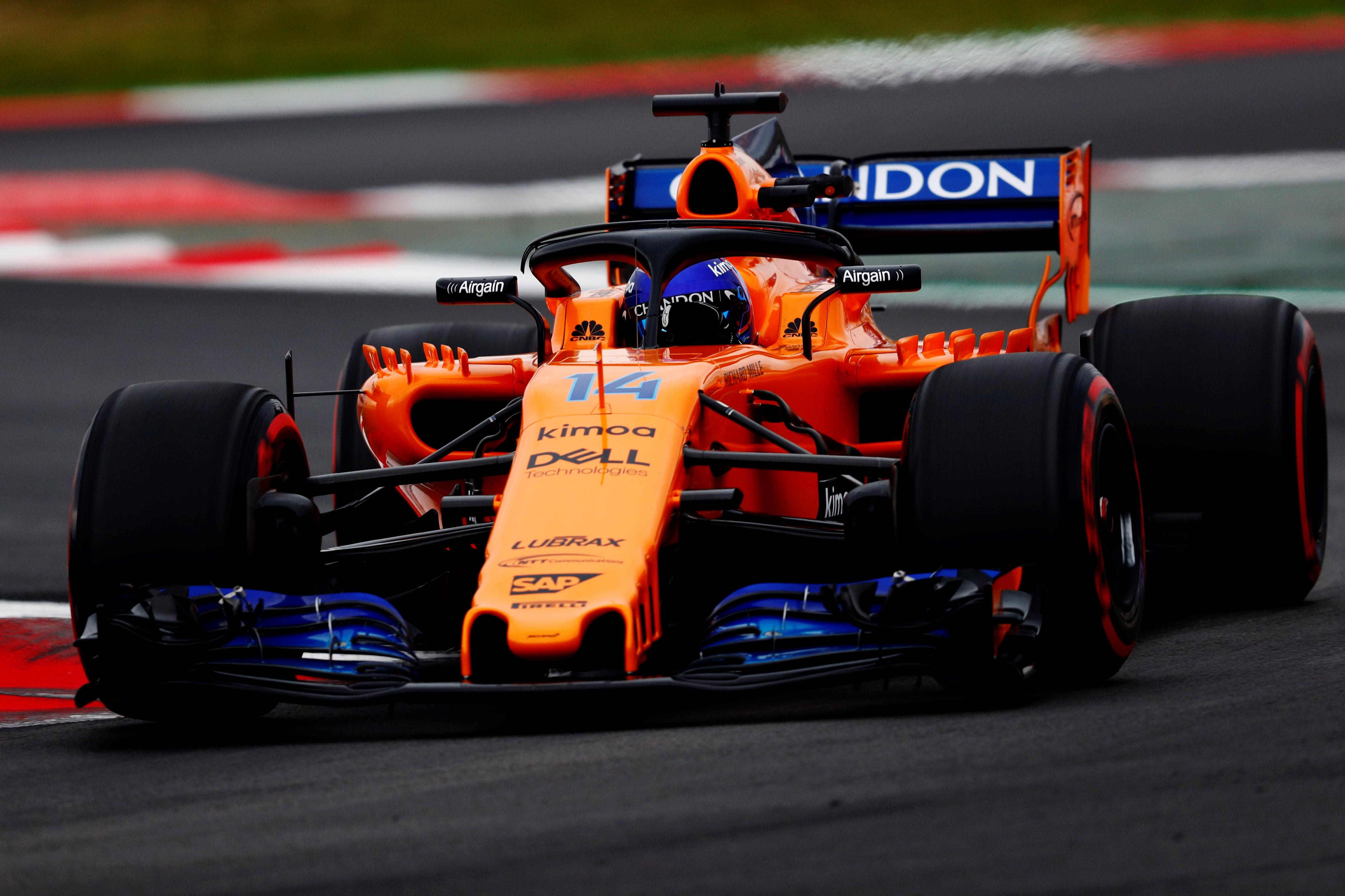 Zo ziet McLaren de GP van Franchorchamps.