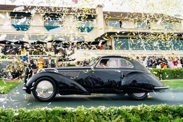 Alfa Romeo 'Best of Show' op 68e Pebble Beach Concours d'Elegance