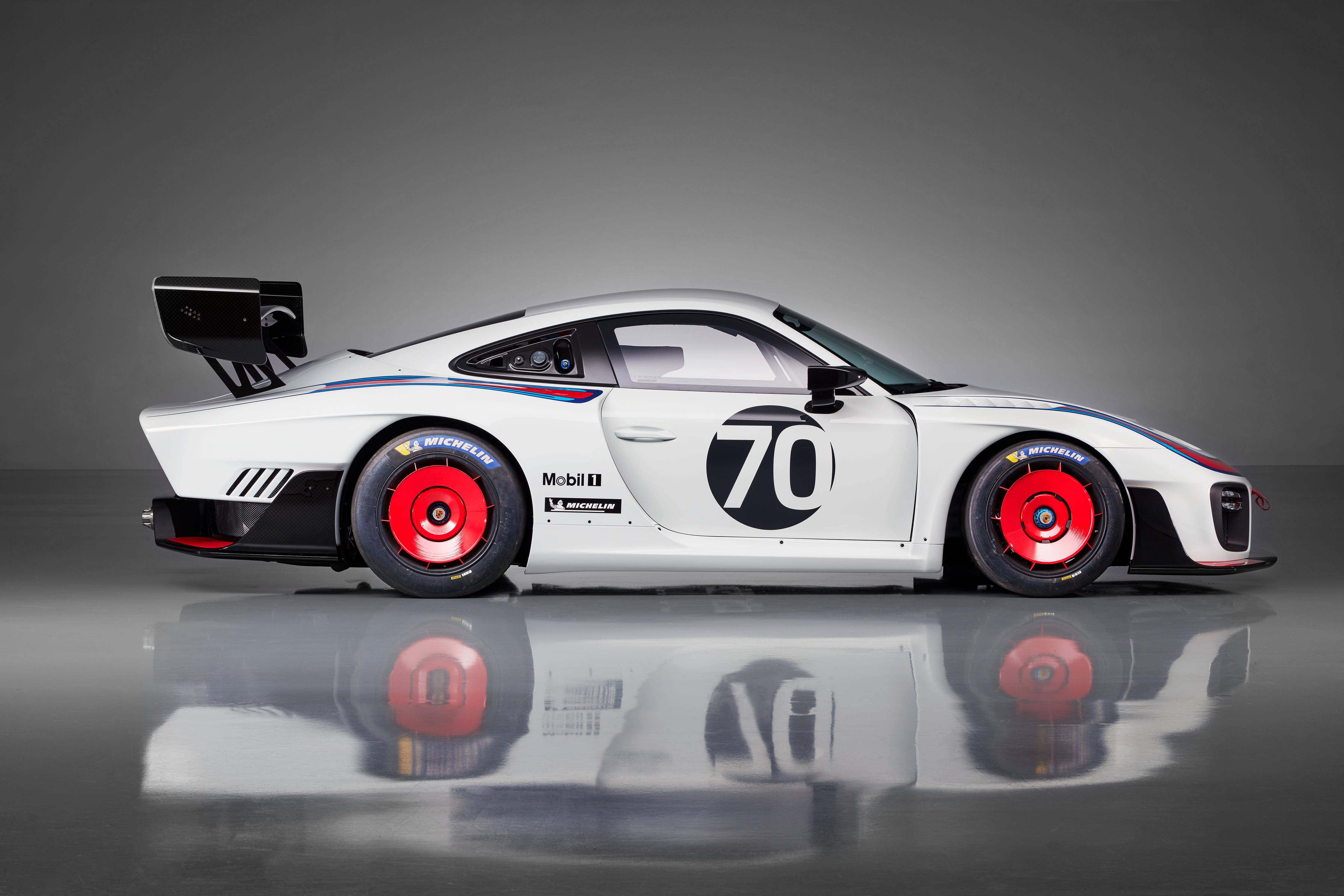 Exclusieve nieuwe uitvoering van de Porsche 935