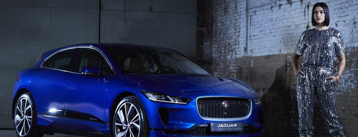 Unieke samenwerking tussen Jaguar en Dua Lipa.