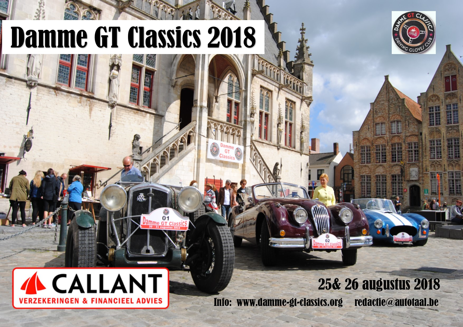 Damme GT Classics 2018 Dag 1. Alain en Pauline Mervilde