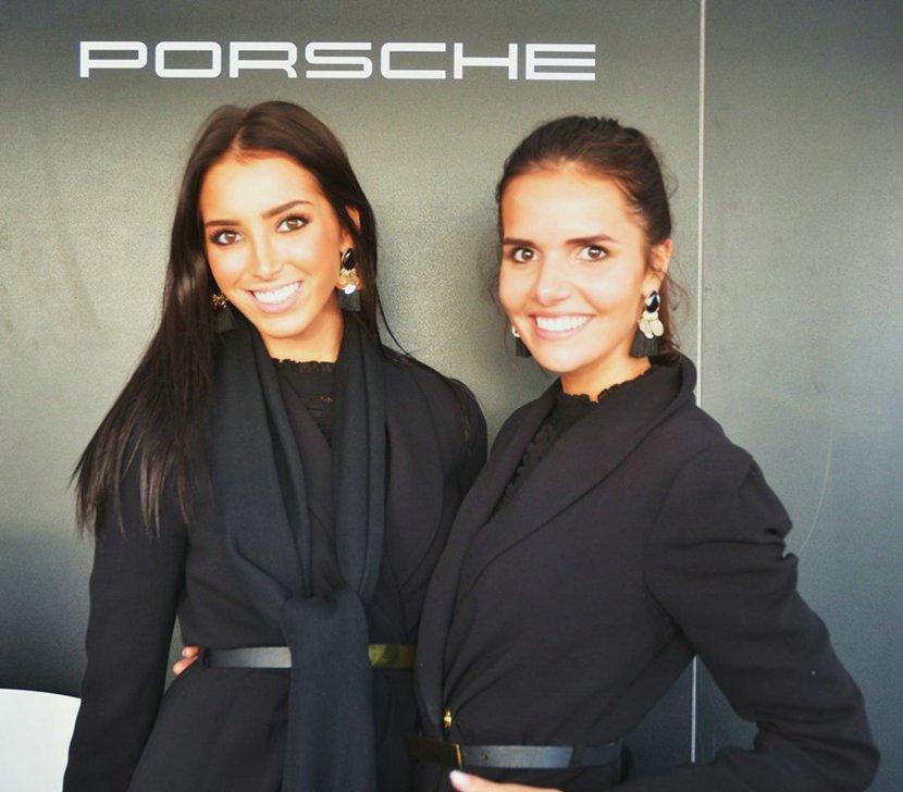 Porsche's op de Zoute GP.  Wilfried Geerts