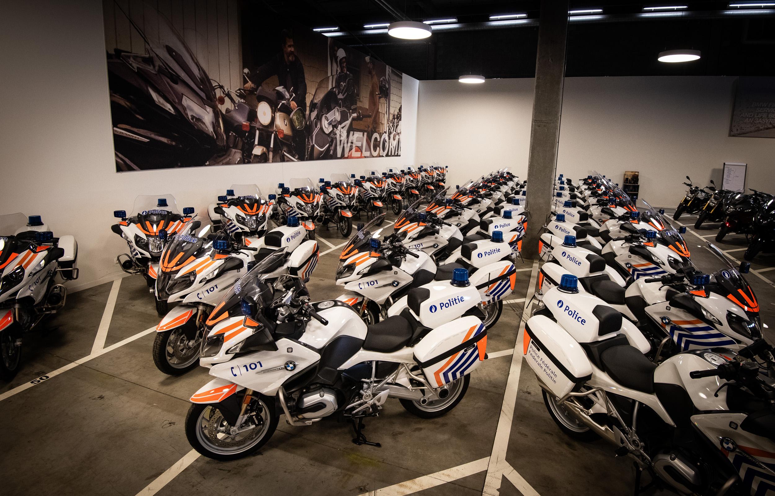 Ook federale politie kiest voor motoren van BMW Motorrad.