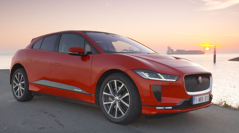 Jaguar I-PACE  video Chris Gommeren