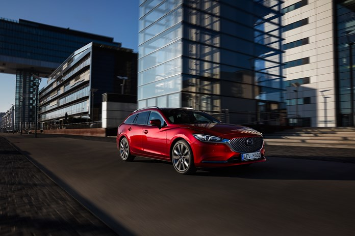 Euro NCAP-Crashtests Mazda6 behaalt 5 sterren