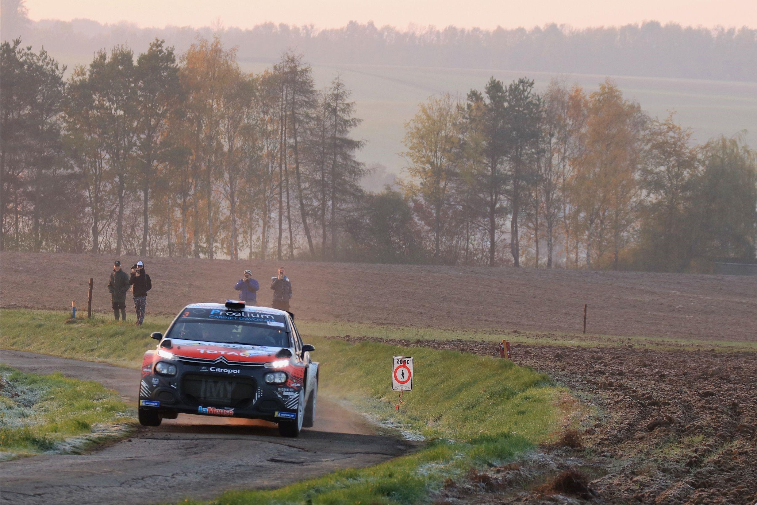 Stéphane Lefebvre wint de Condroz Rally