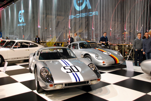 70 jaar Porsche in Autoworld.  Vincent Arpons