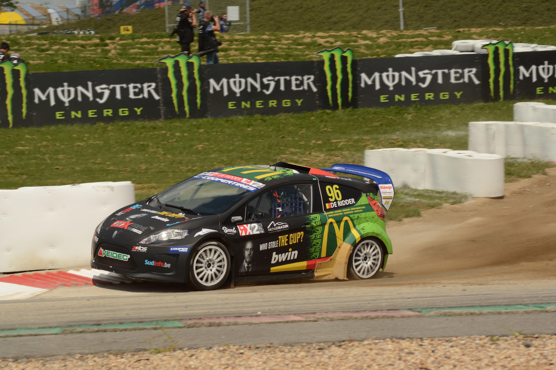 Guillaume De Ridder vicewereldkampioen RX2!