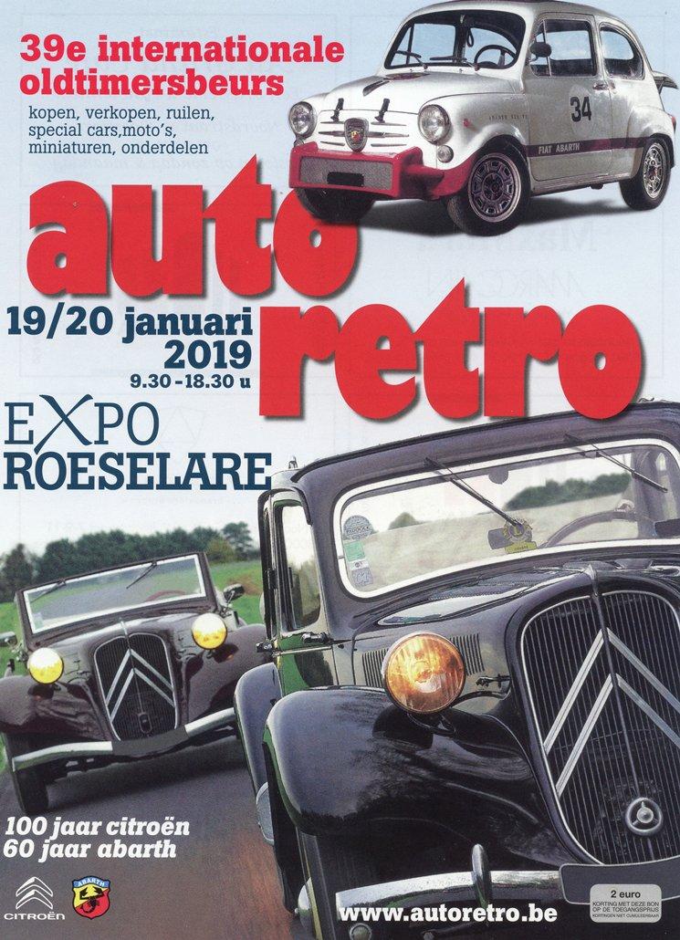 Auto Retro 2019. reportage Vincent Arpons.