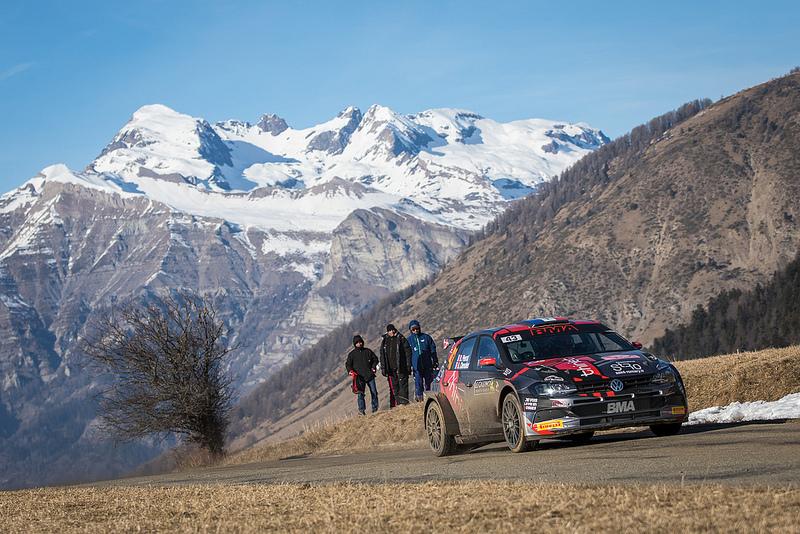 Rally van Monte-Carlo BMA tussen de wereldreferenties !