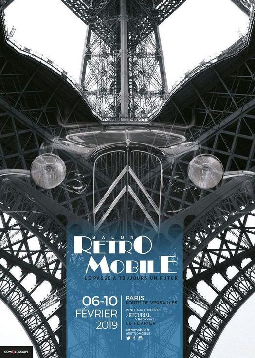 Retromobile Parijs 2019. Vincent Arpons