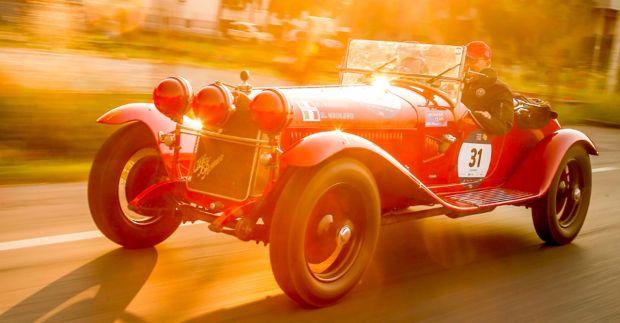 """Een verleden van racen en overwinningen: Alfa Romeo is Automotive Sponsor van de """"1000 Miglia"""" 2019"""