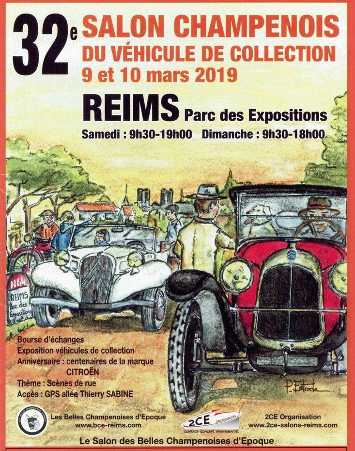 Reims Salon Champenois 2019.