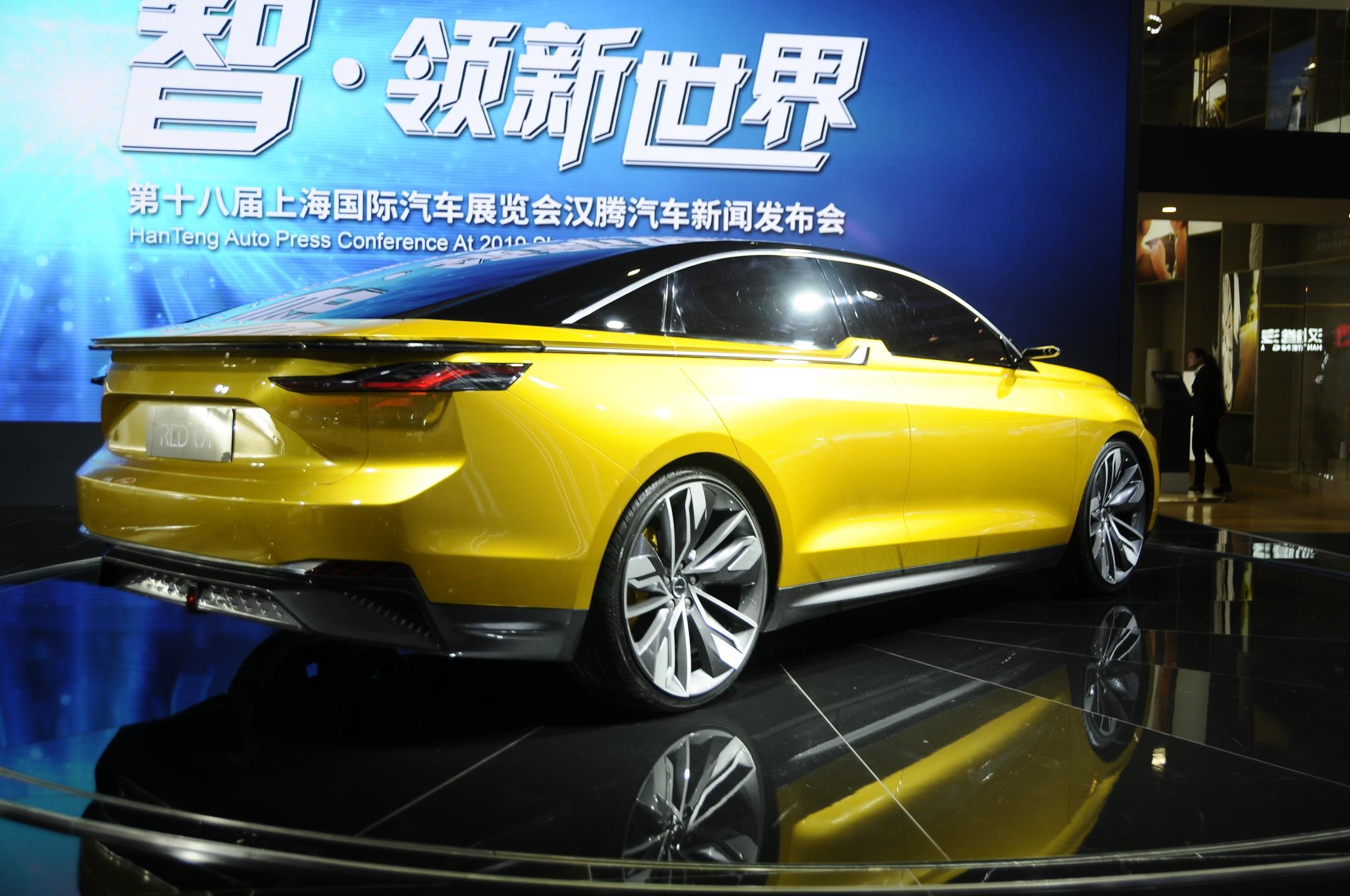 Autosalon van Sanghai 2019