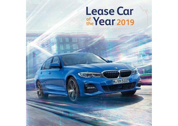 Nieuwe BMW 3 Reeks is Lease Car Of The Year 2019.