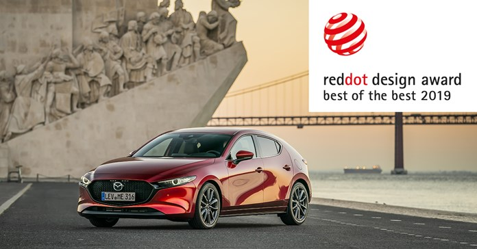 Volledig nieuwe Mazda3 wint hoogste onderscheiding in  Red Dot Awards 2019