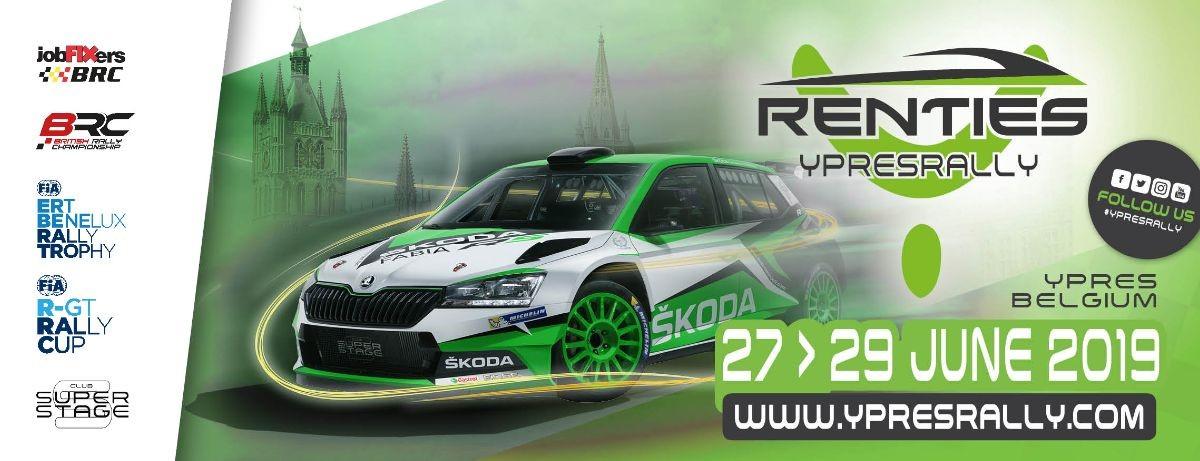 Renties Ypres Rally – 27-29 juni 2019