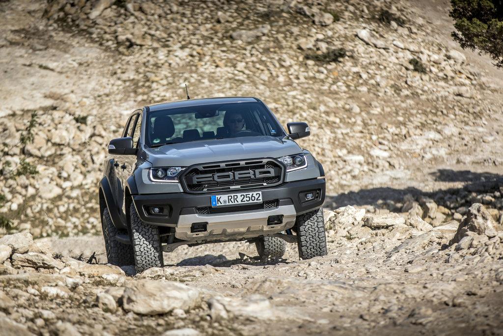 Nieuwe 'bad-ass' Ford Ranger Raptor