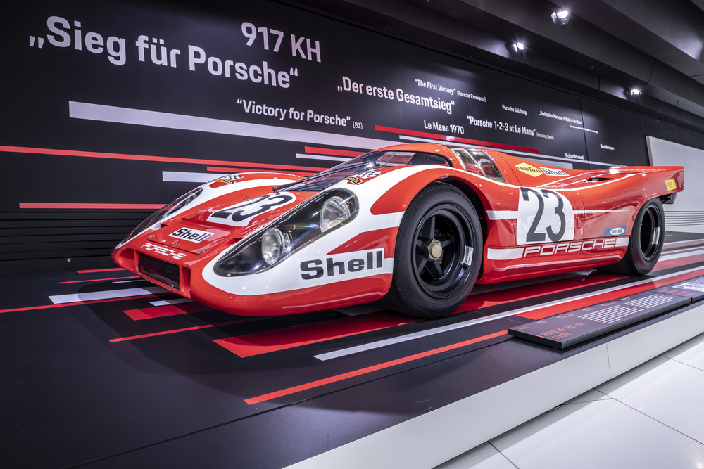 "New special exhibition ""50 Years of the Porsche 917 – Colours of Speed"""