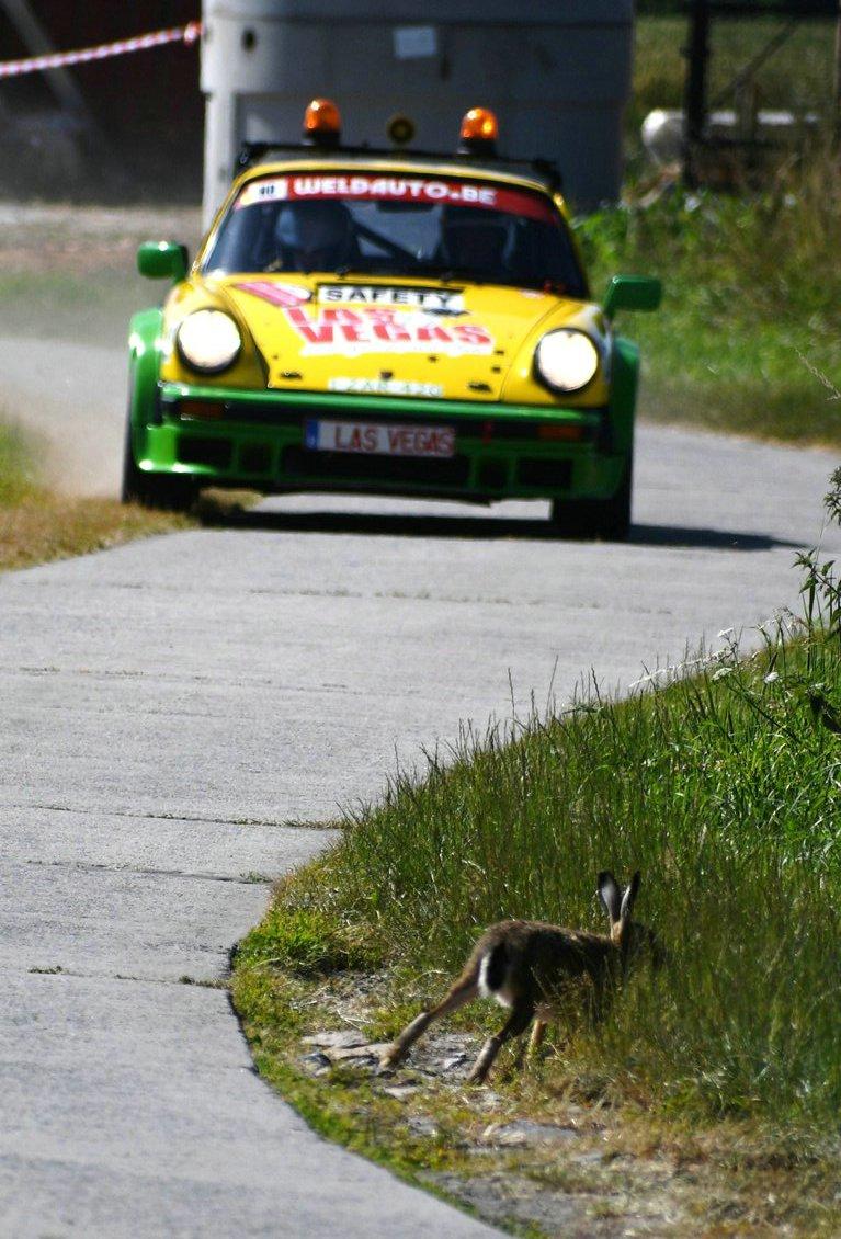RENINGE:  HISTORIC FIA.  Ypres historic rally 2019