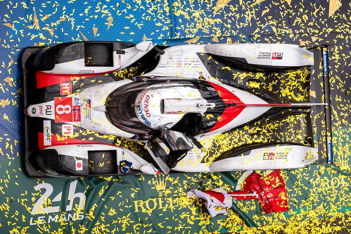 Alonso, Buemi and Nakajima Le Mans winners and world champions!