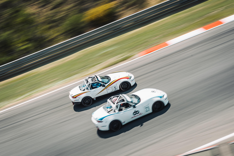 Geslaagd Mazda MX-5 Cup weekend in Zolder