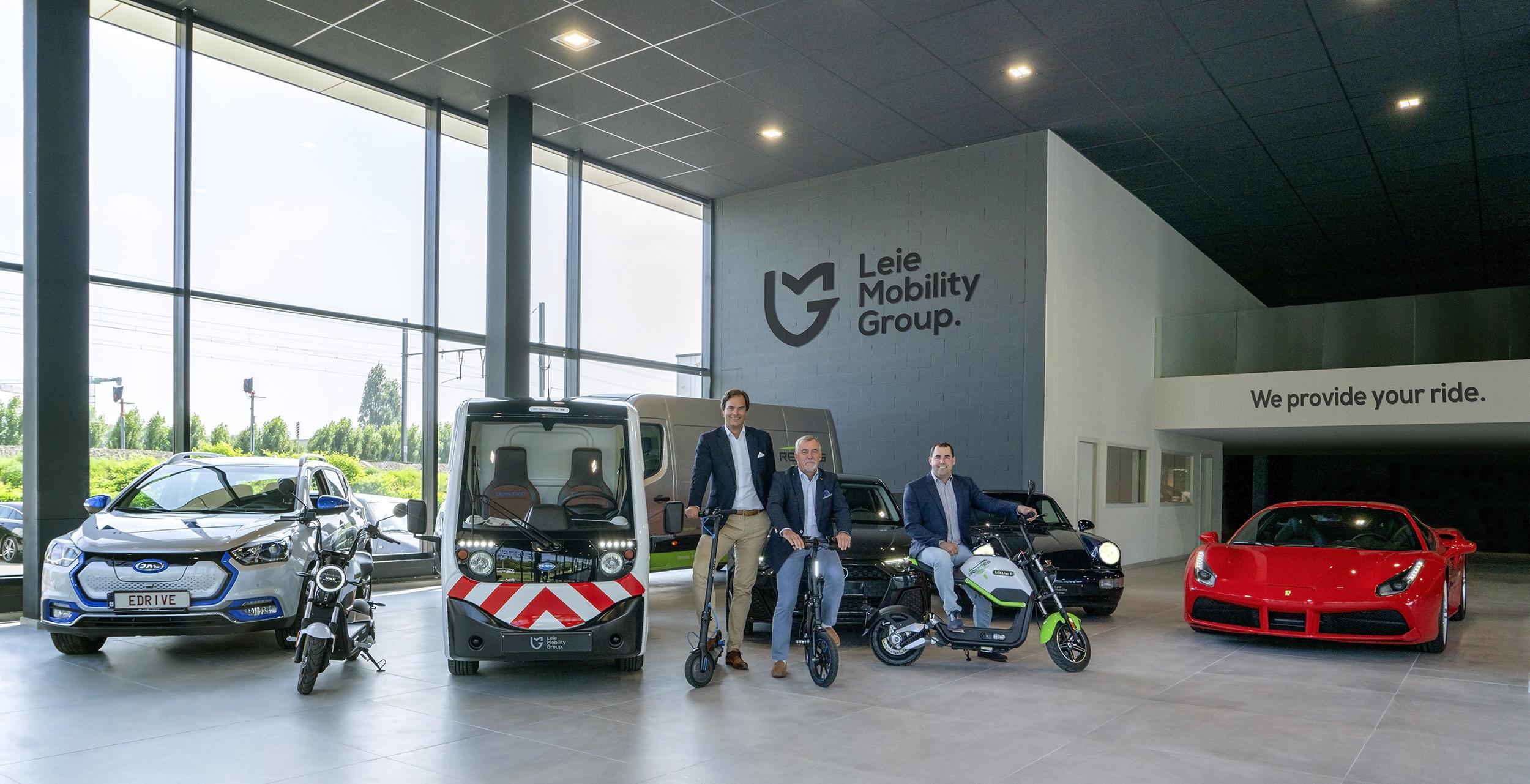 Intense samenwerking creëert de opmerkelijke Automotive Holding,             Leie Mobility Group.