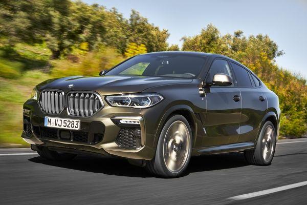 De nieuwe BMW X6.