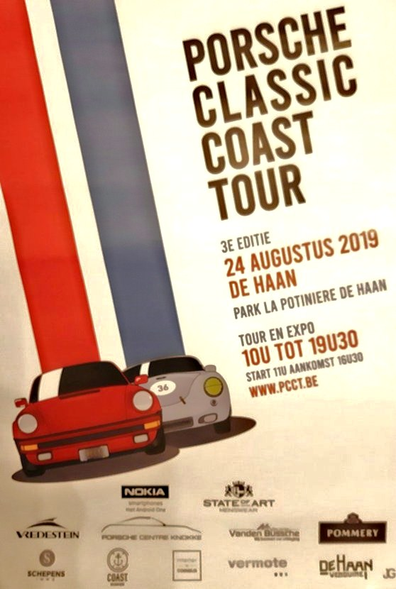 PORSCHE  CLASSIC  COAST     TOUR     De Haan   2019