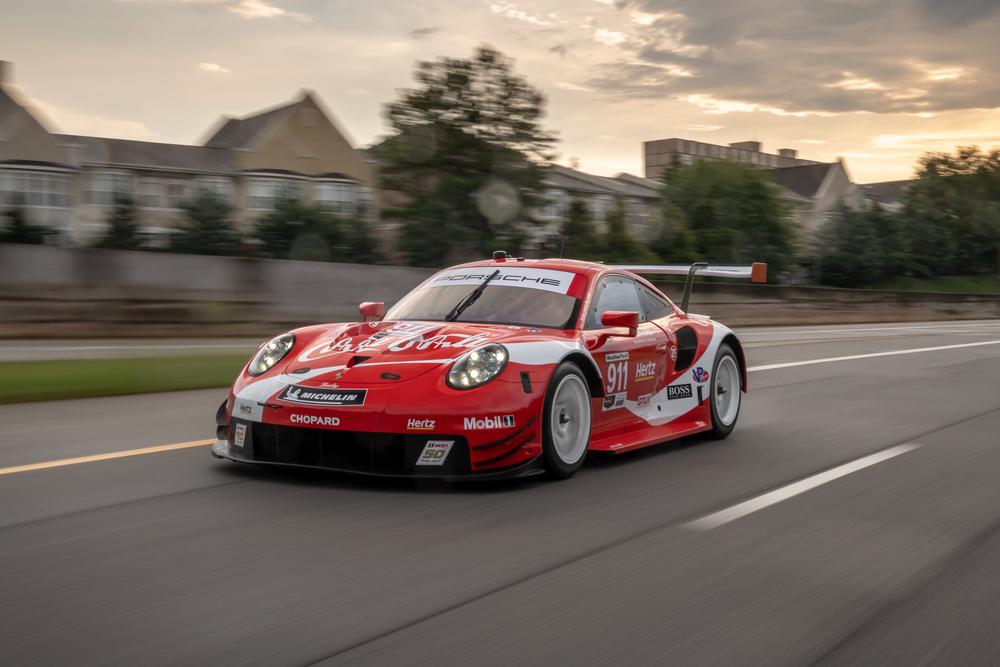Porsche flies Coca-Cola design at Petit Le Mans