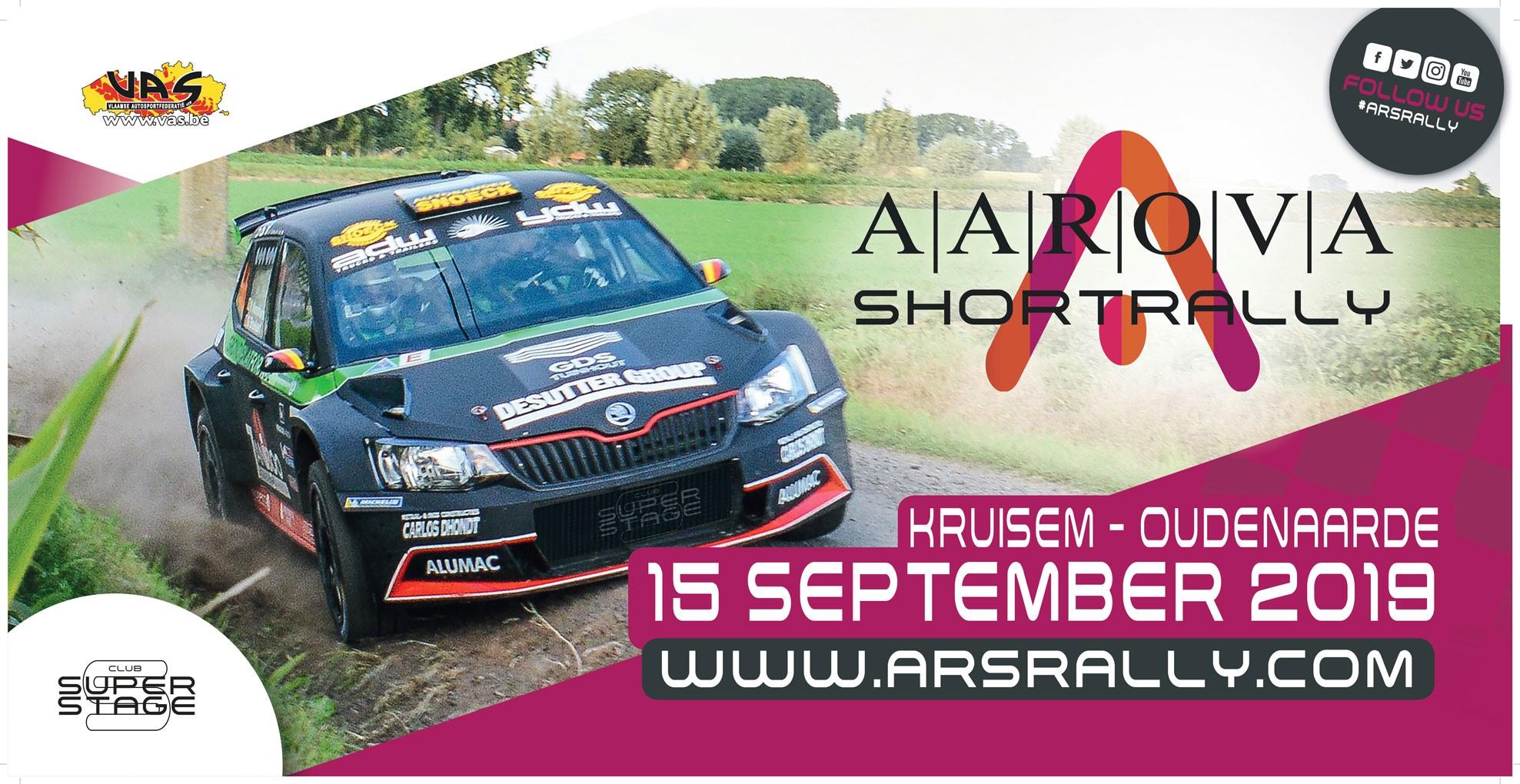 Grandioos rallyfeest in de Vlaamse Ardennen