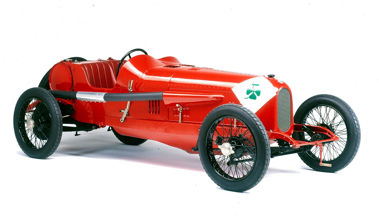 "Alfa Romeo stelt mythische RL Super Sport ""Targa Florio"" voor op Zoute Grand Prix 2019"