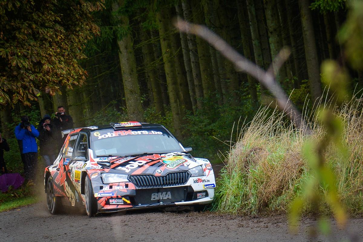 PJM Cracco door pech geveld in de East Belgian Rally