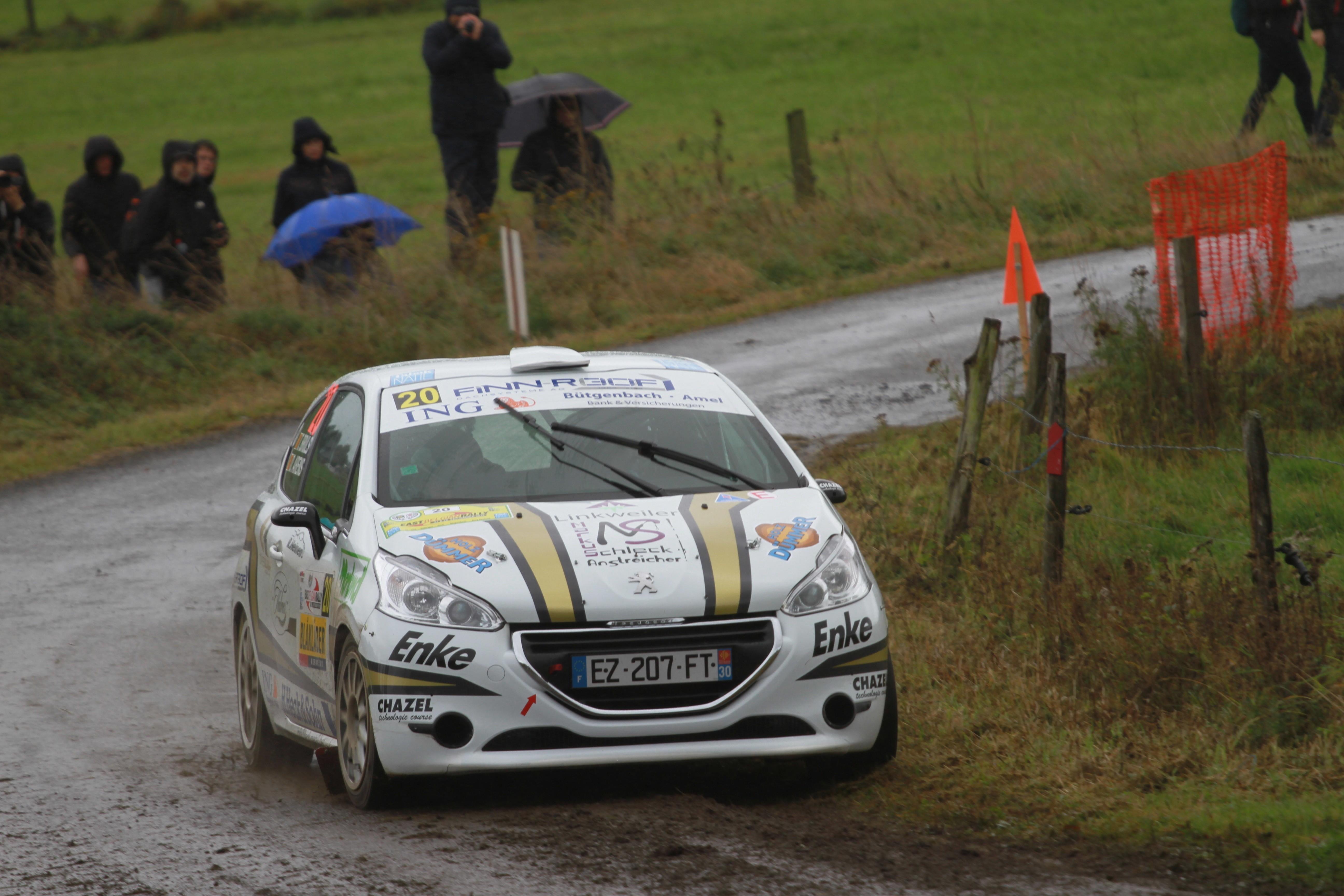 Tobias Brüls baas in eigen streek East Belgian Rally – 28 september