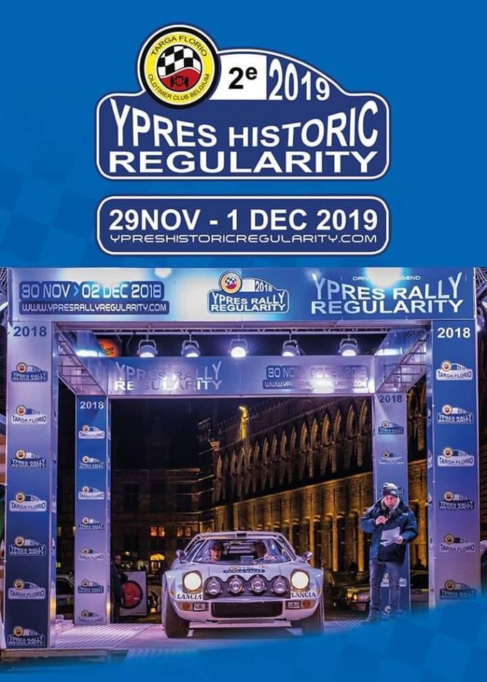 YPRES  HISTORIC  REGULARITY  2019
