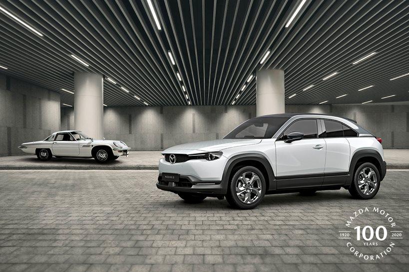 Mazda viert 100-jarig bestaan