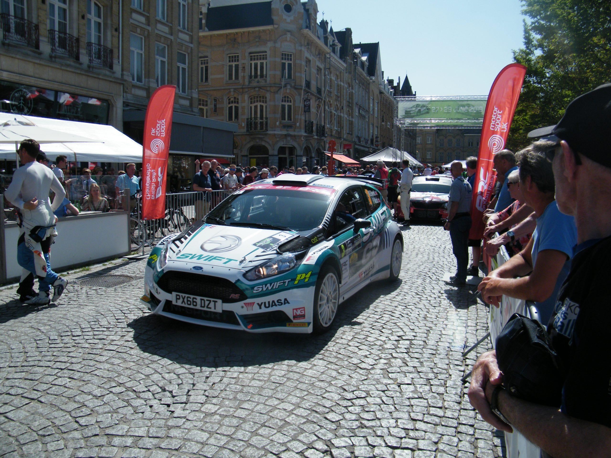De Renties Ypres Rally in twee FIA European Rally Trophy's Oudenaarde in het RACB Rally Criterium