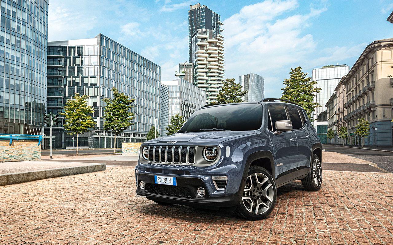 Jeep® Renegade en Compass 4xe 'First Edition': de nieuwe oplaadbare hybridemodellen (PHEV) van Jeep