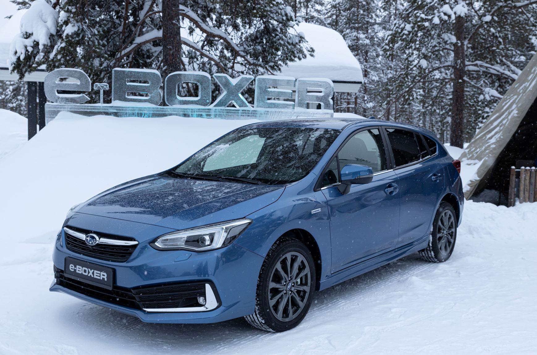 Subaru kondigt Impreza e-BOXER aan