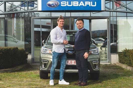Judoka Matthias Casse nieuwste Subaru ambassadeur