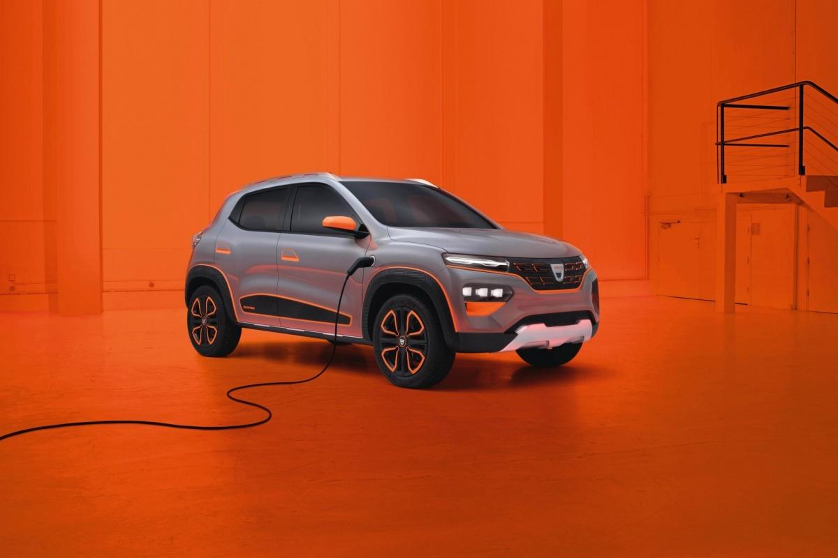 Dacia Spring electric showcar: