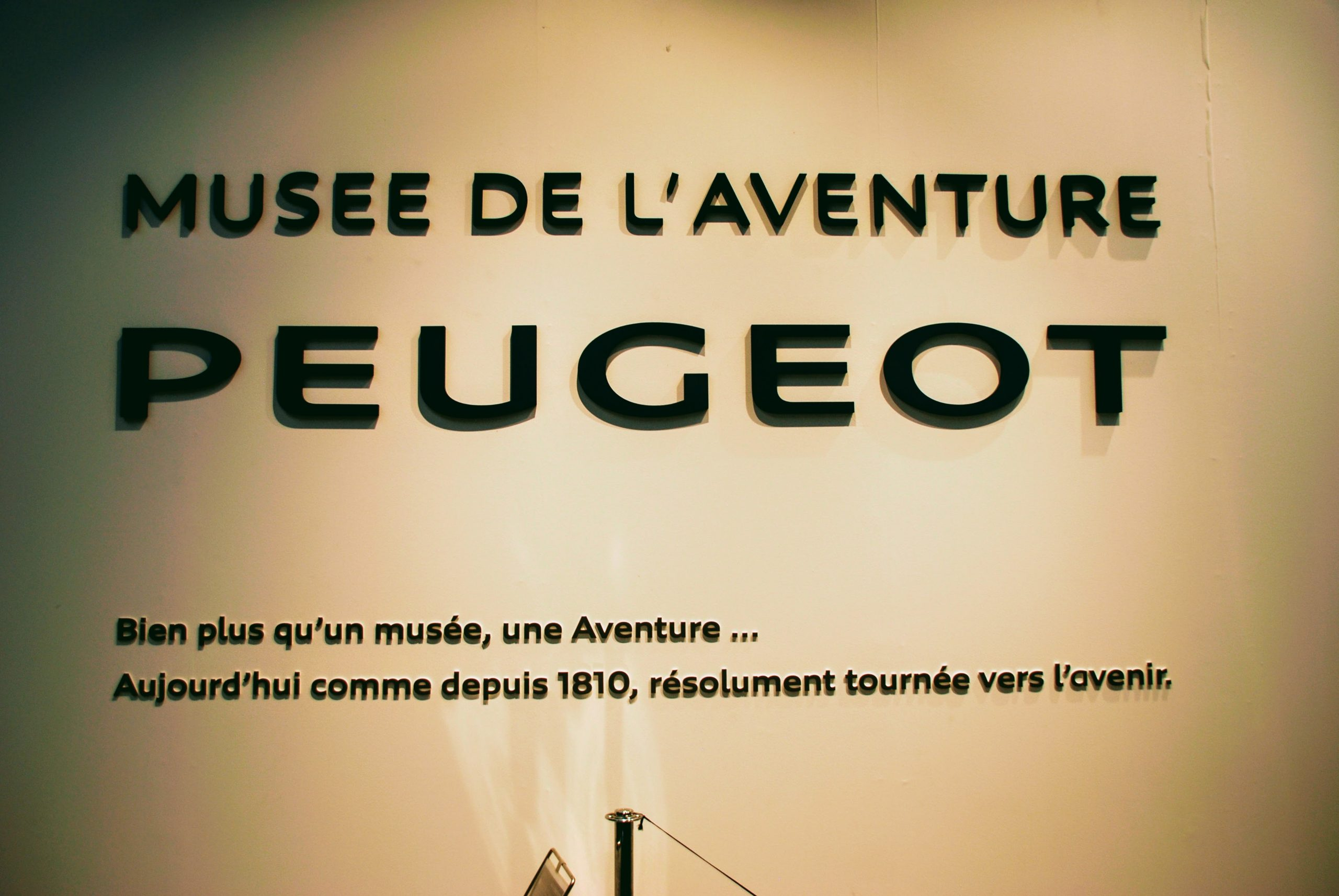 "Peugeot het Museum ""L'Aventure"""