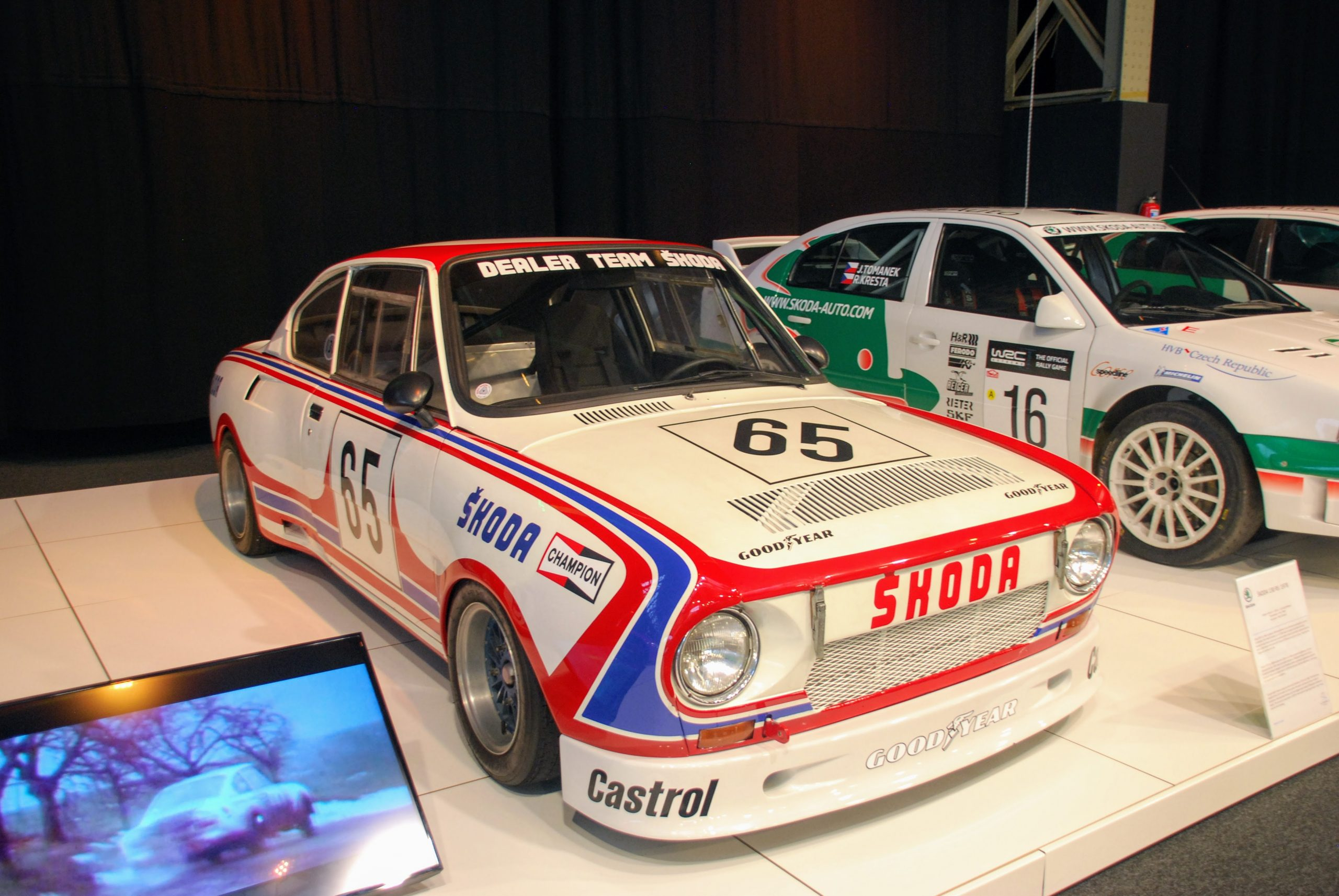125 Years of Skoda, Autoworld