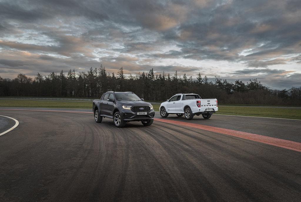 Nieuwe Ranger MS-RT geeft bestverkochte pick-up gespierder straatimago