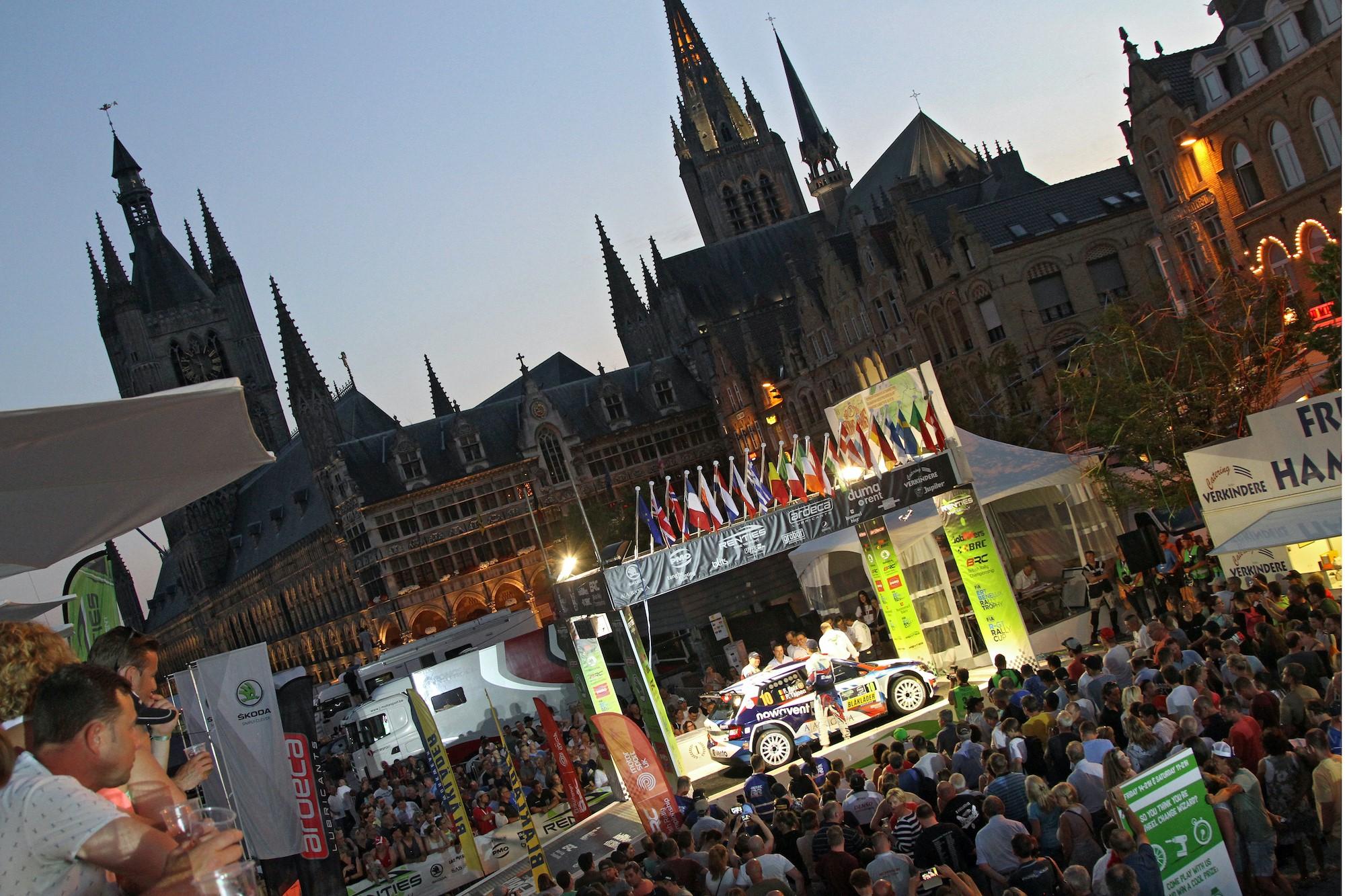 Renties Ypres Rally Belgium van 13 tot 15 augustus 2021