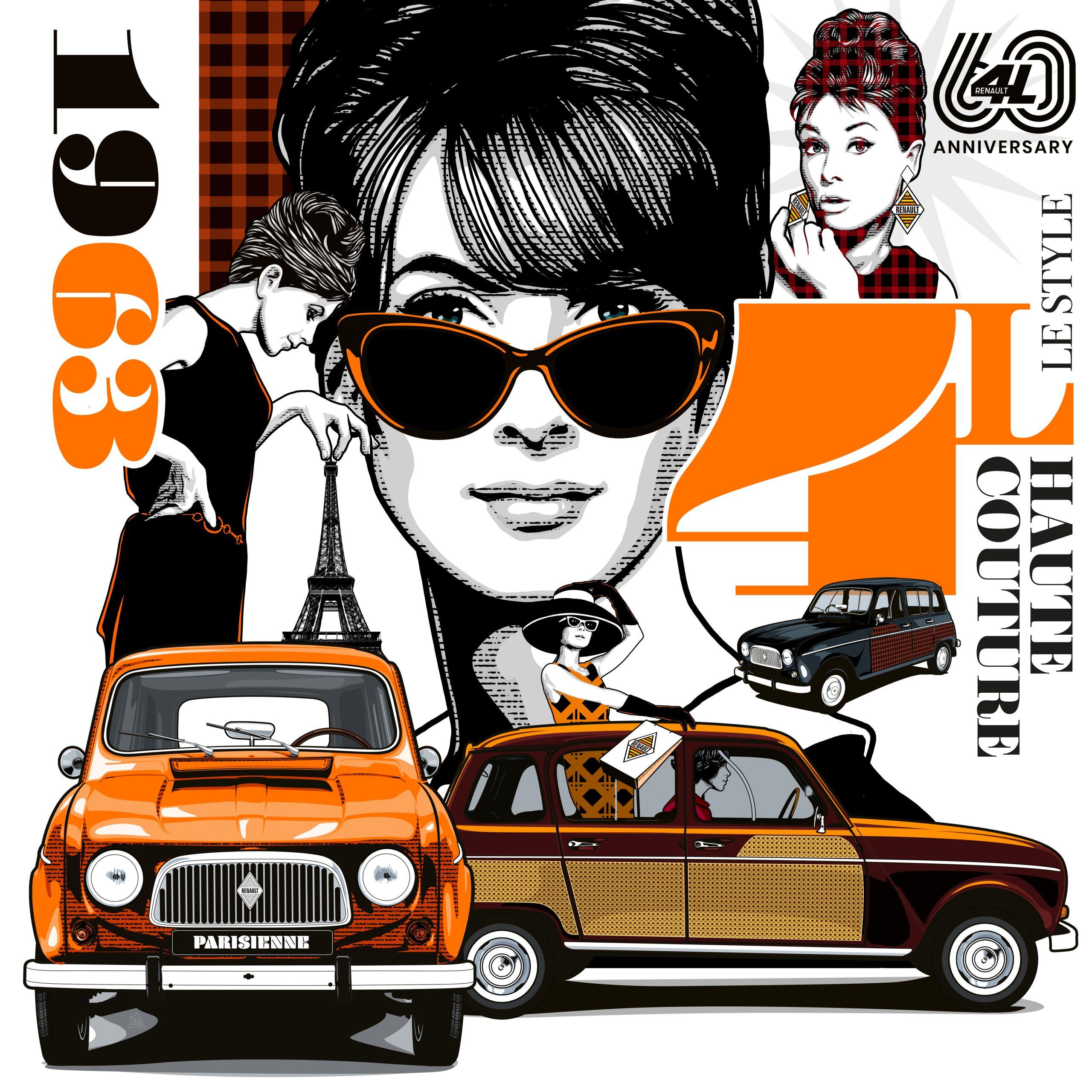 Renault viert de 60e verjaardag van een icoon: 4L