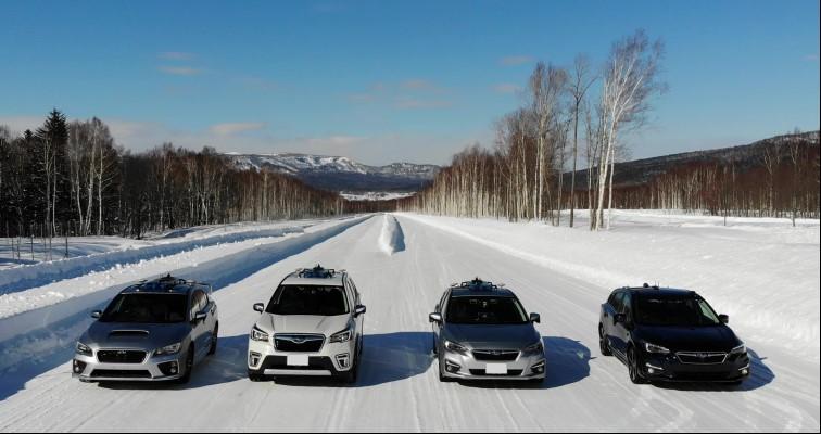 SoftBank Corp. en Subaru Corporation voeren rijsituaties uit met betrekking tot autonoom rijden