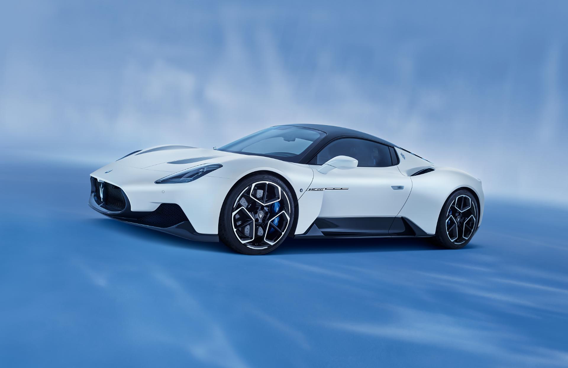 Maserati MC20 uitgeroepen tot  'Mooiste supercar van het Jaar 2021'