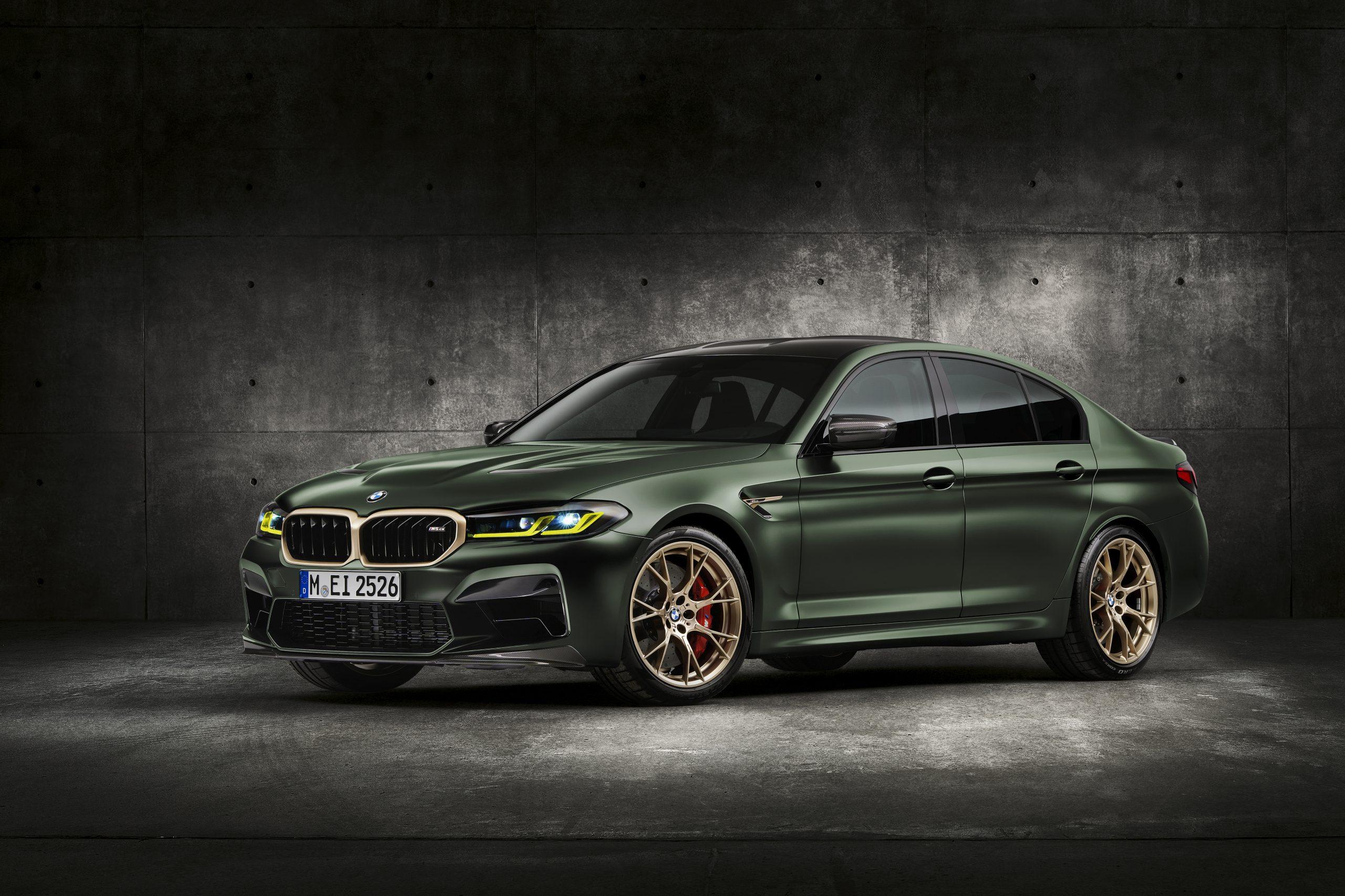 De nieuwe BMW M5 CS