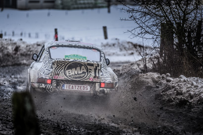 DE 8 BMA CREWS AAN DE FINISH VAN DE ROMANIA HISTORIC WINTER RALLY 2021